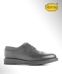 컬러콜라(COLOR COLLA) BLACK SOLE WING TIP BLUCHER