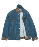 Denim Trucker Jacket (camo patched)