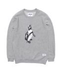 STV. PENGUIN SWEAT SHIRT GRAY