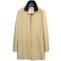 M#0454 cotton single coat (beige)