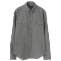 UTS 34 napping two pocket shirts_beige grey(남여공용)