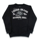 리쿼브랜드(LIQUOR BRAND) DIAMOND DOGS SWEATSHIRTS