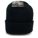 뉴욕 햇(NEW YORK HAT CO.) 4740 OLD SCHOOL BEANIE (BLACK)