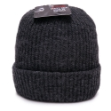 뉴욕 햇(NEW YORK HAT CO.) 4740 OLD SCHOOL BEANIE (CHARCOAL)