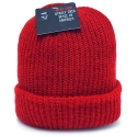 뉴욕 햇(NEW YORK HAT CO.) 4740 OLD SCHOOL BEANIE (RED)