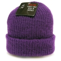 뉴욕 햇(NEW YORK HAT CO.) 4740 OLD SCHOOL BEANIE (PURPLE)