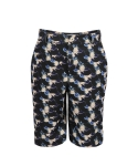 줄리빈즈(JULIEBEANS) 60s blue LP record mens half pants