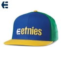 에트니스(Etnies) [Etnies] CORPORATE 5 SNAPBACK HAT(Blue/Yellow)