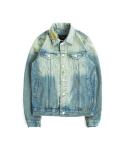 Scratch Washed Denim Jacket