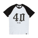 40 OZ NYC 40 SHORT SLEEVE RAGLAN