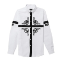 [KIZOUT]crossbloom shirts