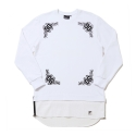 키즈아웃(KIZOUT) [KIZOUT]bloom layered crewneck_white