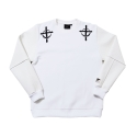키즈아웃(KIZOUT) [KIZOUT]mighty crewneck_white