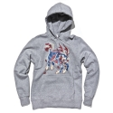 얼마이티(ALMIGHTY) Foodog Fleece Hood (grey)