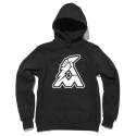 얼마이티(ALMIGHTY) OG Logo Fleece Hood (black)