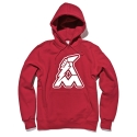 얼마이티(ALMIGHTY) OG Logo Fleece Hood (red)