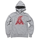 얼마이티(ALMIGHTY) OG Logo Fleece Hood (grey)