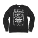얼마이티(ALMIGHTY) JACK MIGHTY Fleece Crewneck(black)