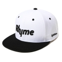 하이비션(HYBITION) Rhyme Snapback Hat White