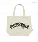 MESSENGER MESSAGE BAG_IVORY
