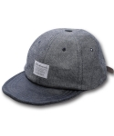 블랙맘바(BLACKMAMBA) Half Denim cap(BL)
