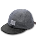 블랙맘바(BLACKMAMBA) Half Denim cap(BK)