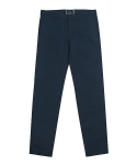 stretch canvas chino pants (navy)