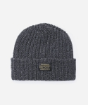 KNIT BEANIE CHARCOAL