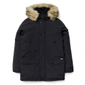 Anchorage Parka Black/White