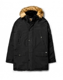 X Anchorage Parka Black/White