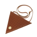 요다(YODA) yoda triangle cross bag - camel