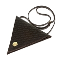 요다(YODA) yoda triangle cross bag - brown