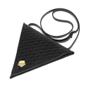 요다(YODA) yoda triangle cross bag - black