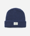 KNIT BEANIE BLUE (WHITE LABEL)
