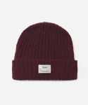 KNIT BEANIE RED (WHITE LABEL)