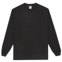 1304.Adult long sleeve tee (Black)
