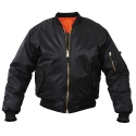MA-1 FLIGHT JACKET (BLACK)