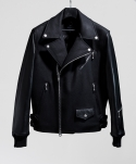 """Black Chafer"" Stadium Rider Jacket"