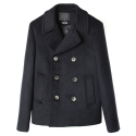 UTO 301 insulation wool pea coat_navy(남여공용)