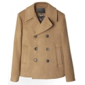 UTO 303 insulation wool pea coat_camel(남여공용)