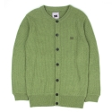 UTW 04 henlyneck wool knit cardigan_green(남여공용)