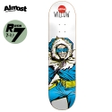 올모스트(ALMOST) [Almost] WILLOW CAPTAIN COLD X DC COMICS R7 DECK 7.75