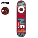 올모스트(ALMOST) [Almost] YOUNESS AMRANI AVANT GRANDE IMPACT PLUS IP DECK 7.75