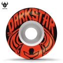 다크스타(DARKSTAR) [Darkstar] BRUSH WHITE/RED PRICE KNIGHT WHEELS 52