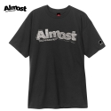 올모스트(ALMOST) [Almost] STAMPED LOGO S/S (Black)