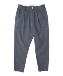 COTTON SERGY TROUSERS IN NAVY