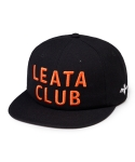 리타(LEATA) Leata club 6 panel cap black