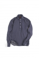 14Gb - Denim Pullover Shirts / Blue