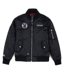 BATTLE MA-1 JACKET BLACK
