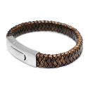 [MARK-4] LEATHER TOUCH CLASP (BROWN)